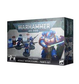 Games Workshop Space Marines Assault Intercessor + Paint Set