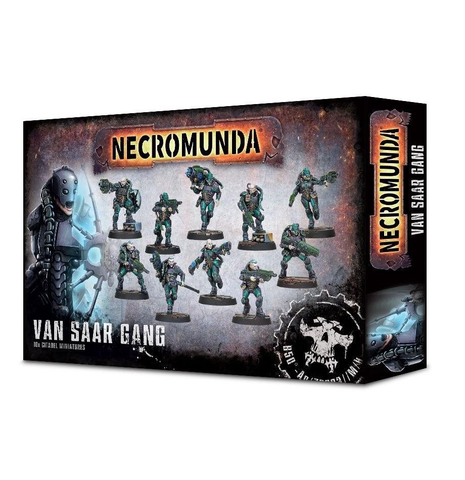 Games-Workshop Necromunda: Van Saar Gang