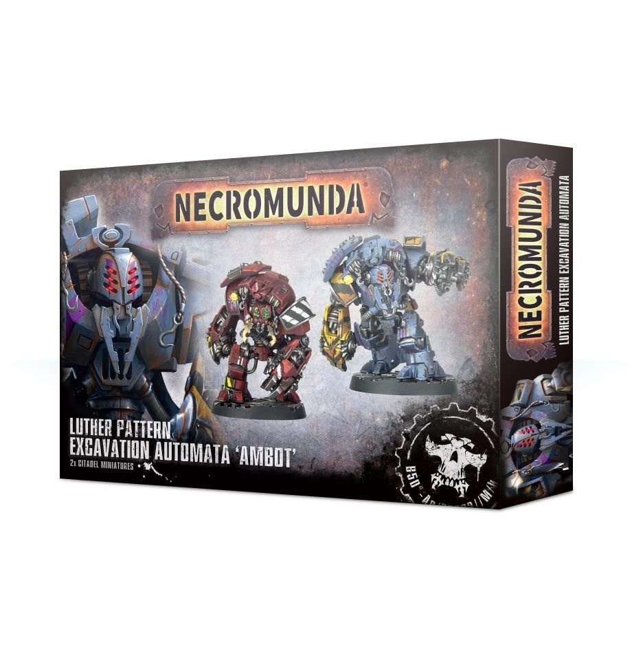 Games-Workshop Necromunda Ambot Automata