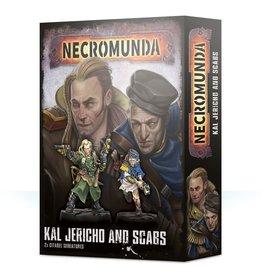 Games-Workshop Necromunda Kal Jericho And Scabs