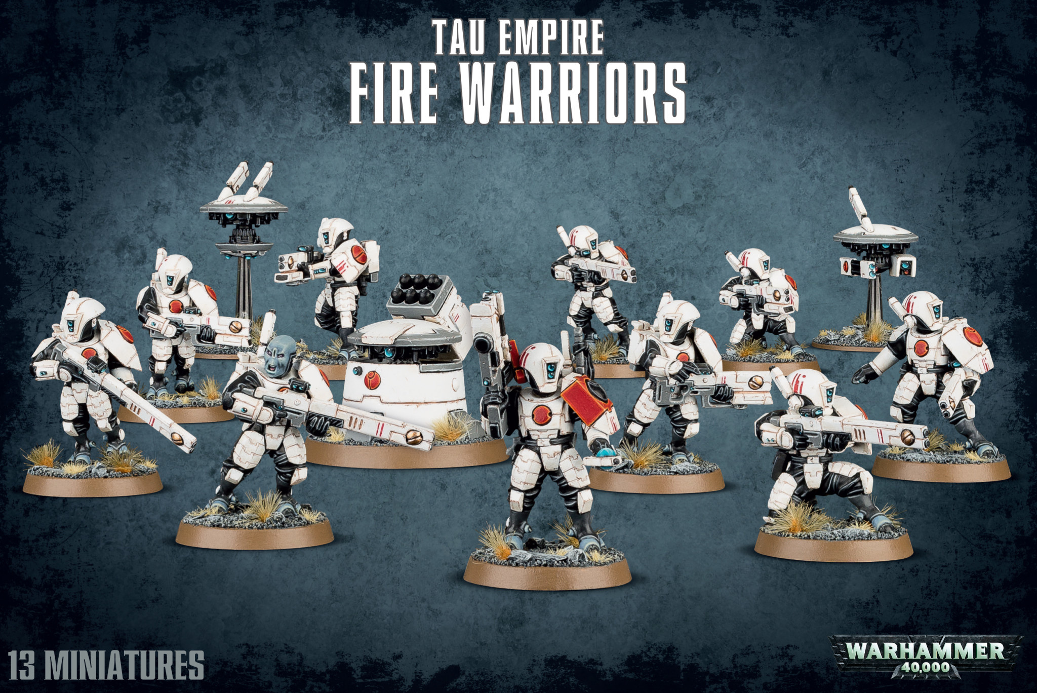 Games-Workshop Tau Empire Fire Warriors