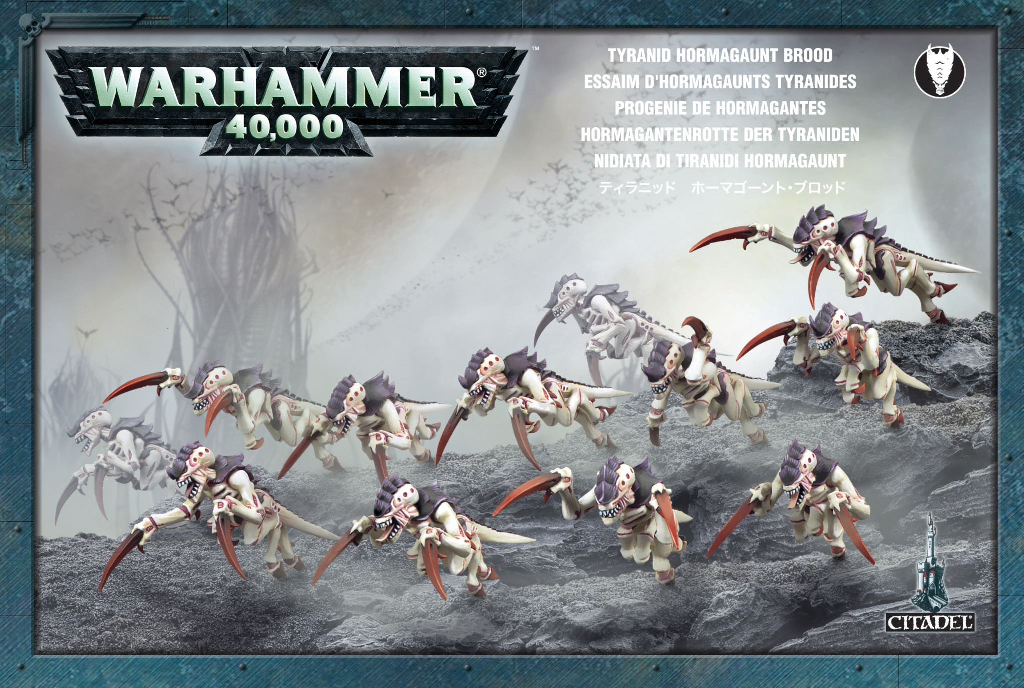 Games-Workshop Tyranid Hormagaunt Brood