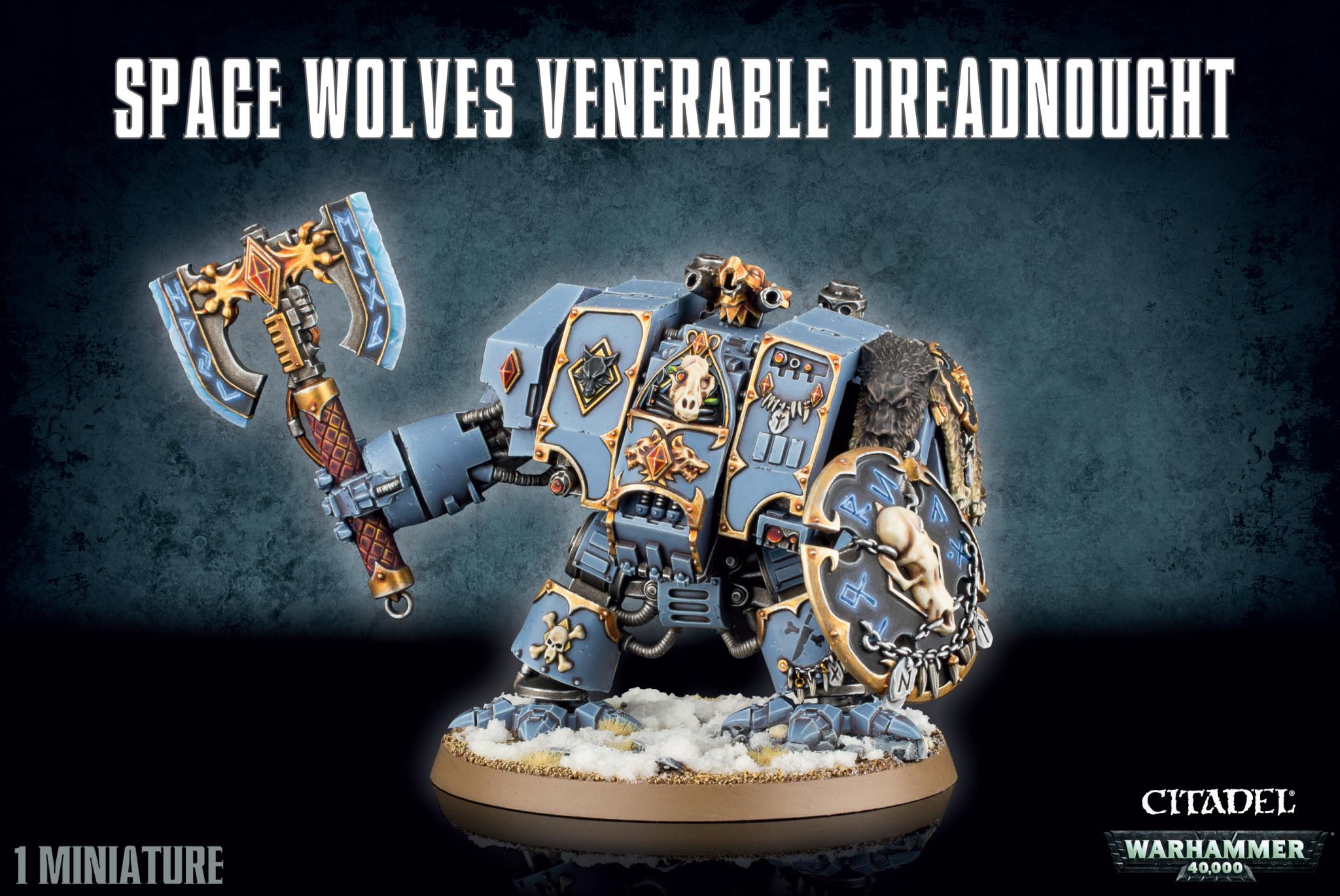 Games-Workshop Space Wolves Venerable Dreadnought
