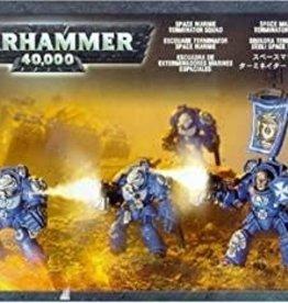 Games-Workshop Space Marine Terminator Squad
