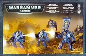 Games-Workshop Space Marine Terminator Squad