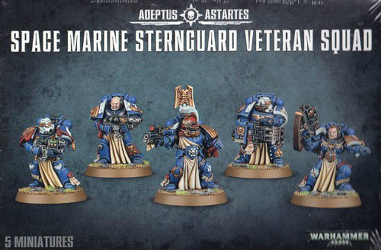 Games-Workshop Space Marine Sternguard Veteran Squad