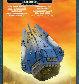 Games-Workshop Space Marine Drop Pod