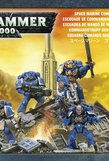 Games-Workshop Space Marine Command Squad
