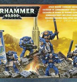 Games-Workshop Space Marine Command Squad