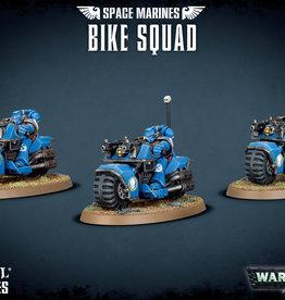 Games-Workshop Space Marine Bike Squad