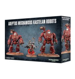 Games-Workshop Adeptus Mechanicus Kastelan Robots