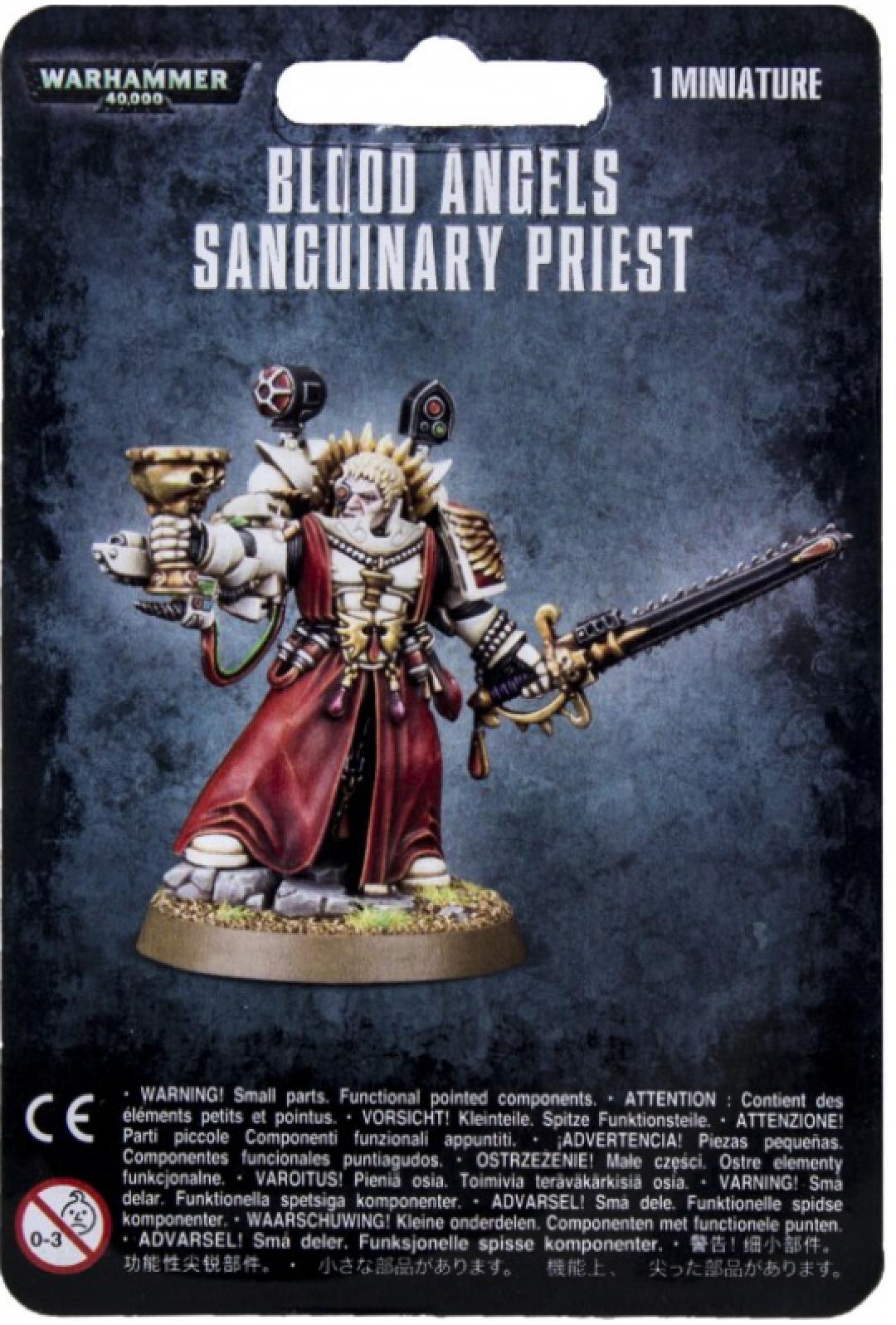 Games-Workshop Blood Angels Sanguinary Priest