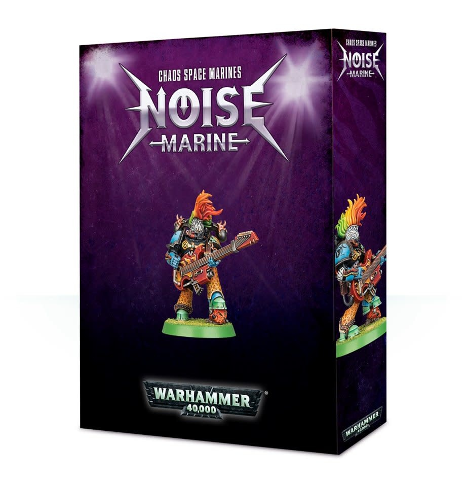 Games-Workshop Chaos Space Marines Noise Marine