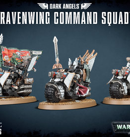 Games-Workshop Dark Angels Ravenwing Command Squad