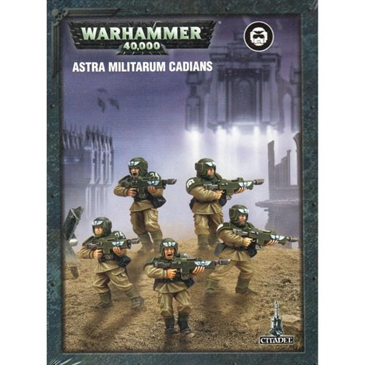 Games-Workshop Easy To Build Astra Militarum Cadians