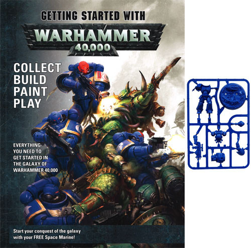 Games-Workshop Getting Started With Warhammer 40K (Eng)