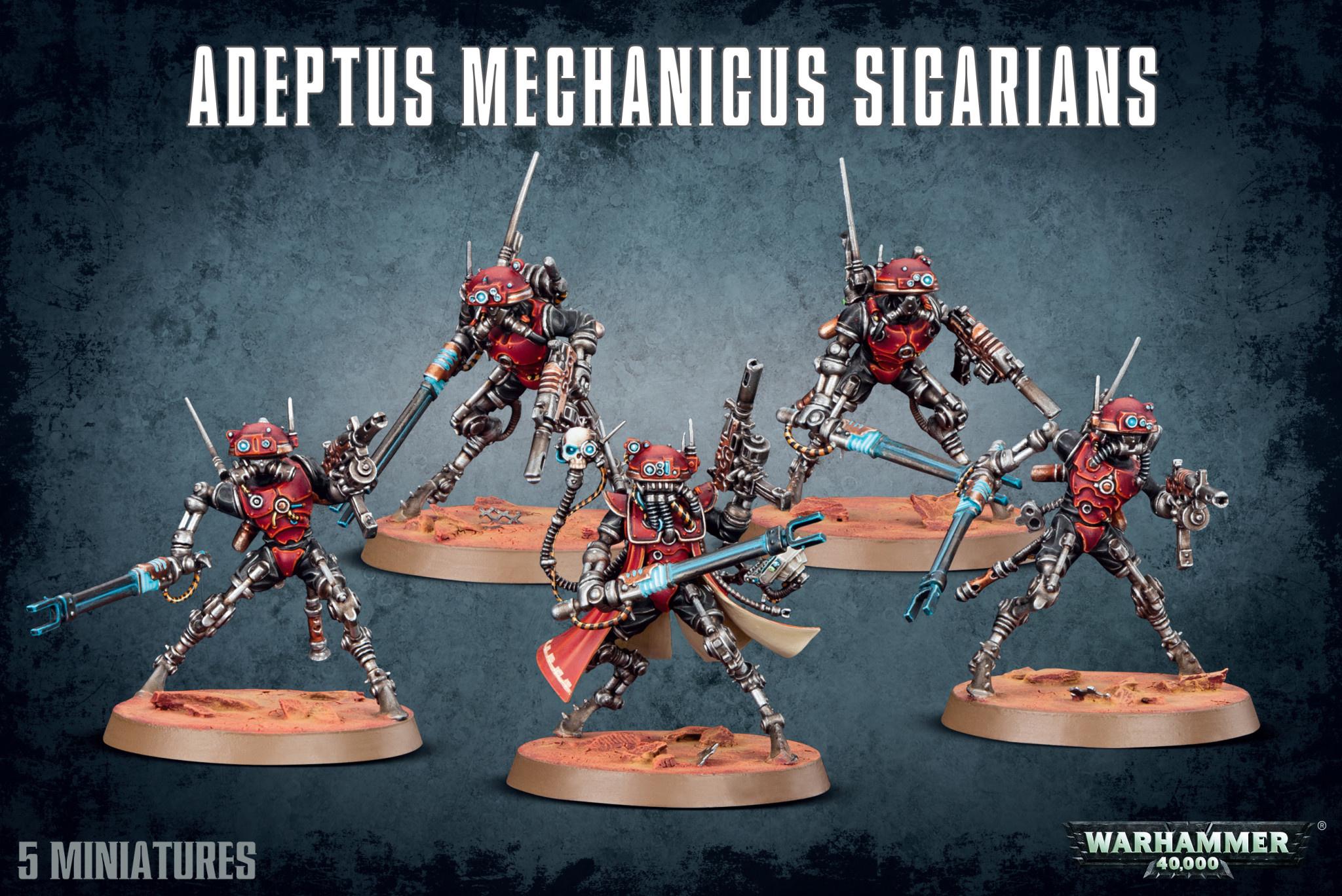 Games-Workshop Adeptus Mechanicus Sicarians