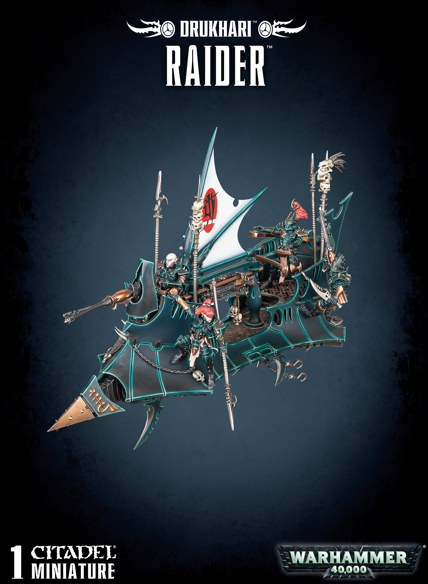 Games-Workshop Drukhari Raider
