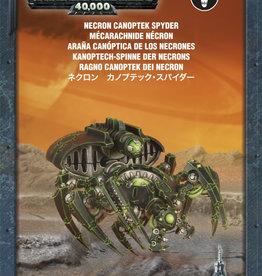 Games-Workshop Necron Canoptek Spyder