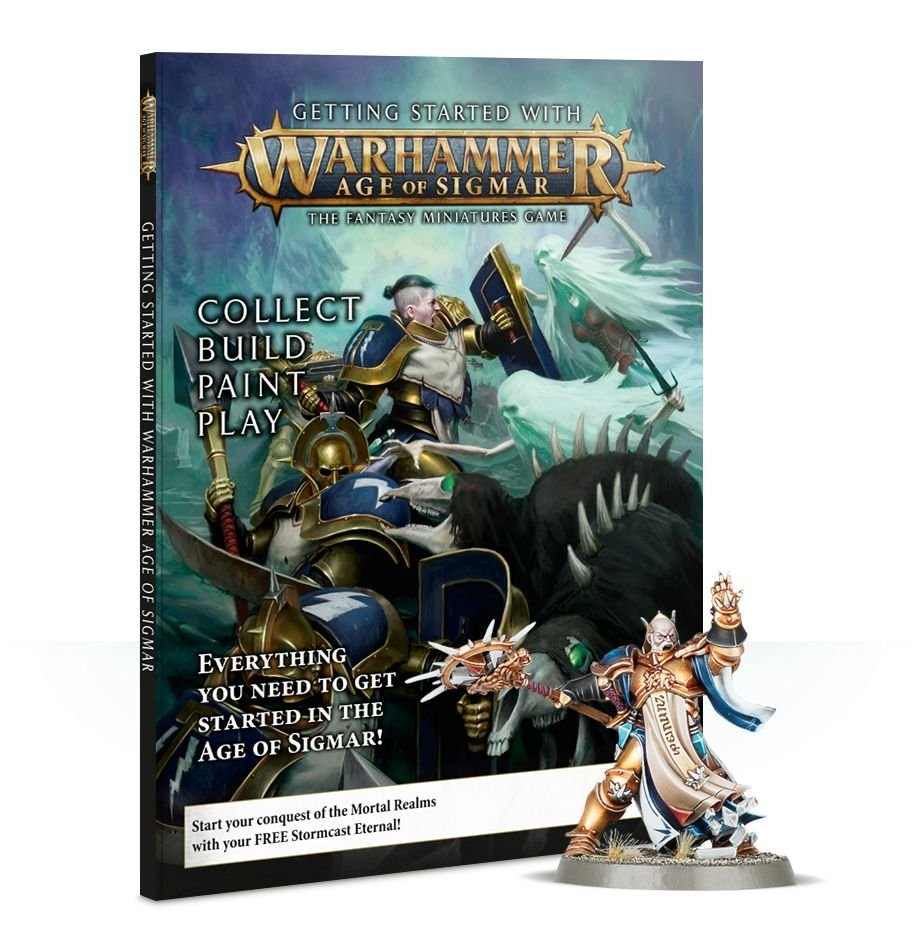 Games-Workshop Getting Started With Age Of Sigmar (Eng)