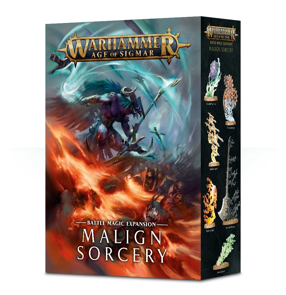 Games-Workshop Age Of Sigmar: Malign Sorcery (English)