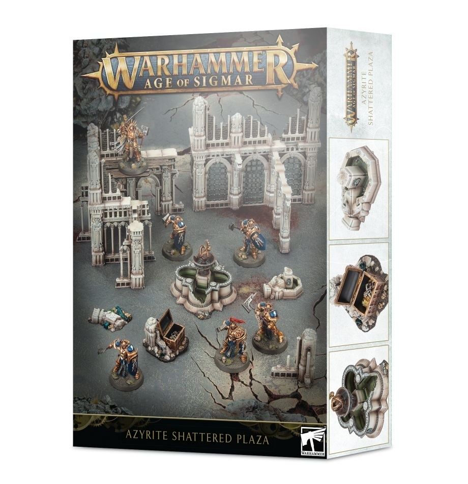 Games-Workshop Age Of Sigmar: Azyrite Shattered Plaza