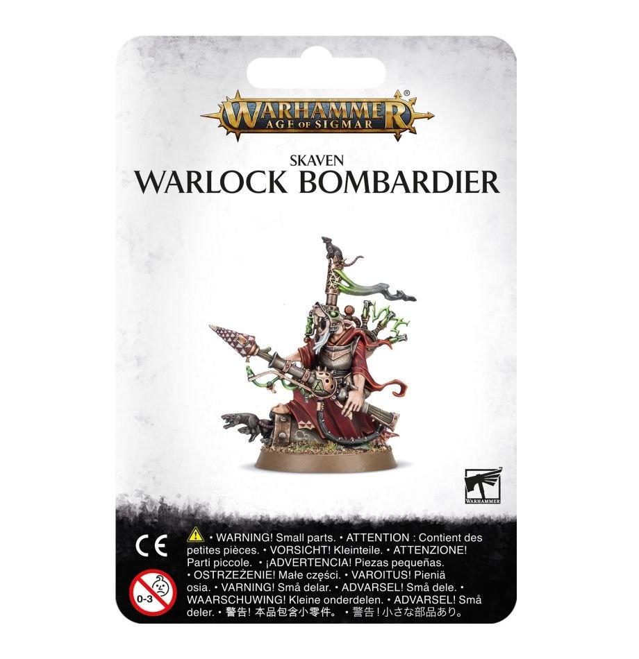 Games-Workshop Skaven Warlock Bombardier