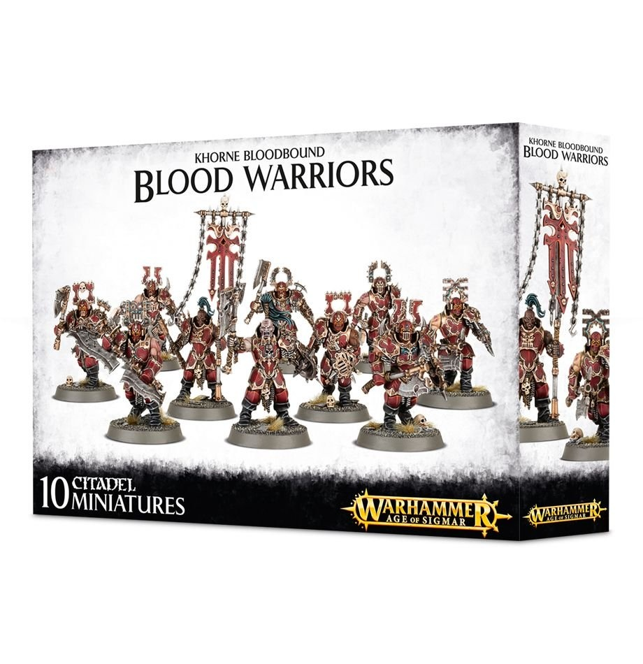 Games-Workshop Khorne Bloodbound Blood Warriors