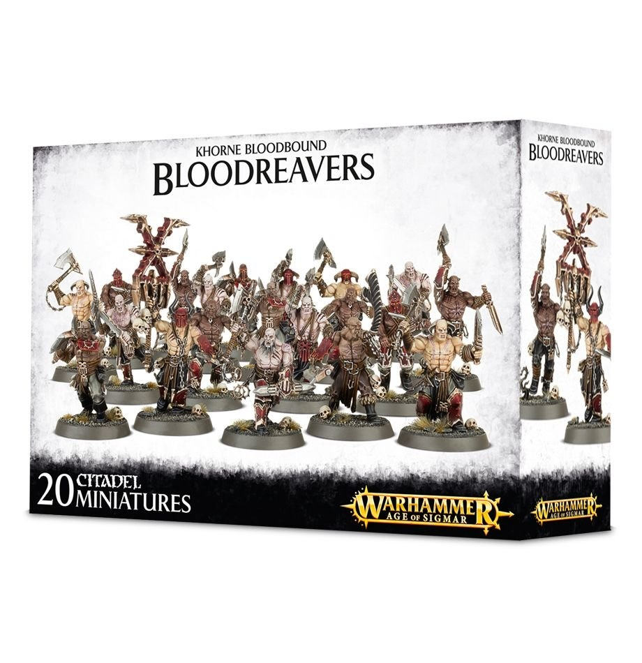 Games-Workshop Khorne Bloodbound Bloodreavers