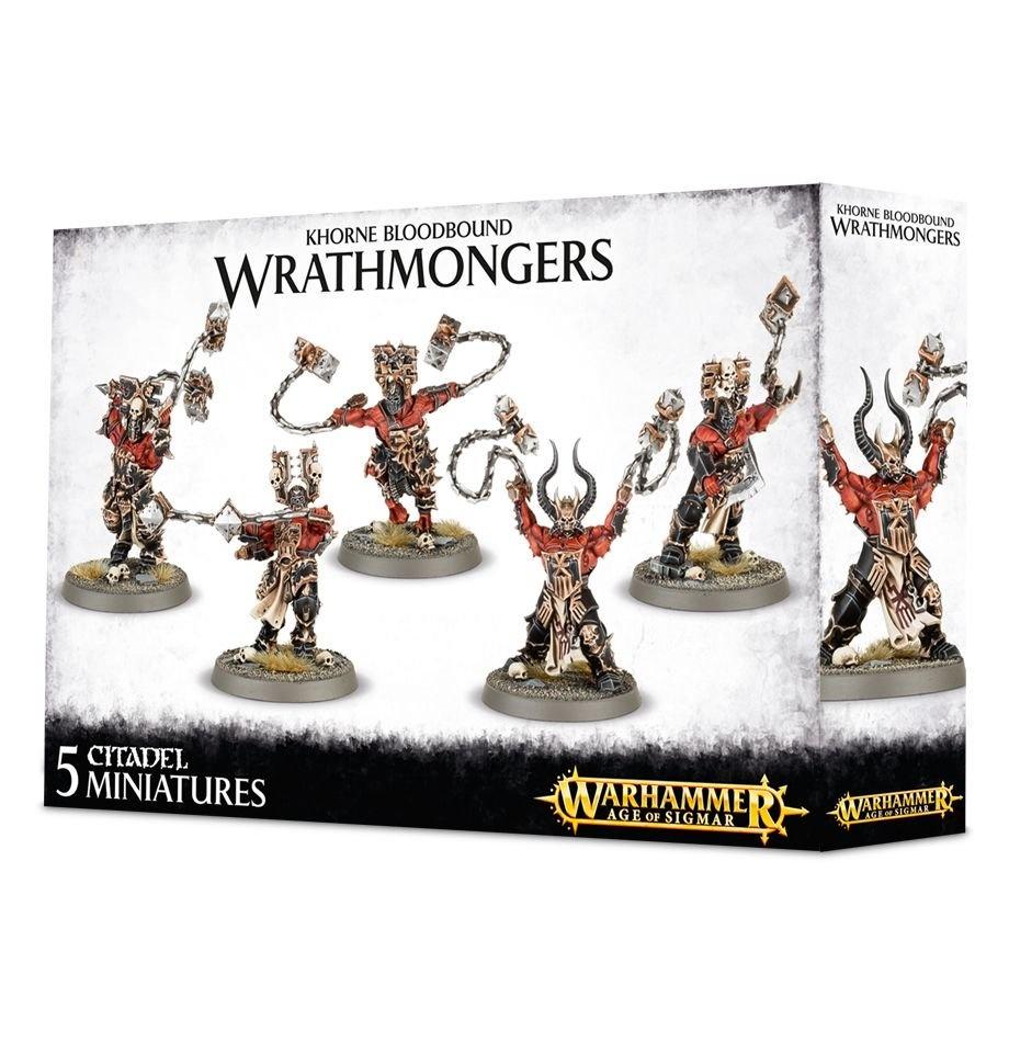 Games-Workshop Khorne Bloodbound Wrathmongers