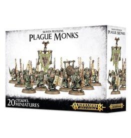 Games-Workshop Skaven Pestilens Plague Monks