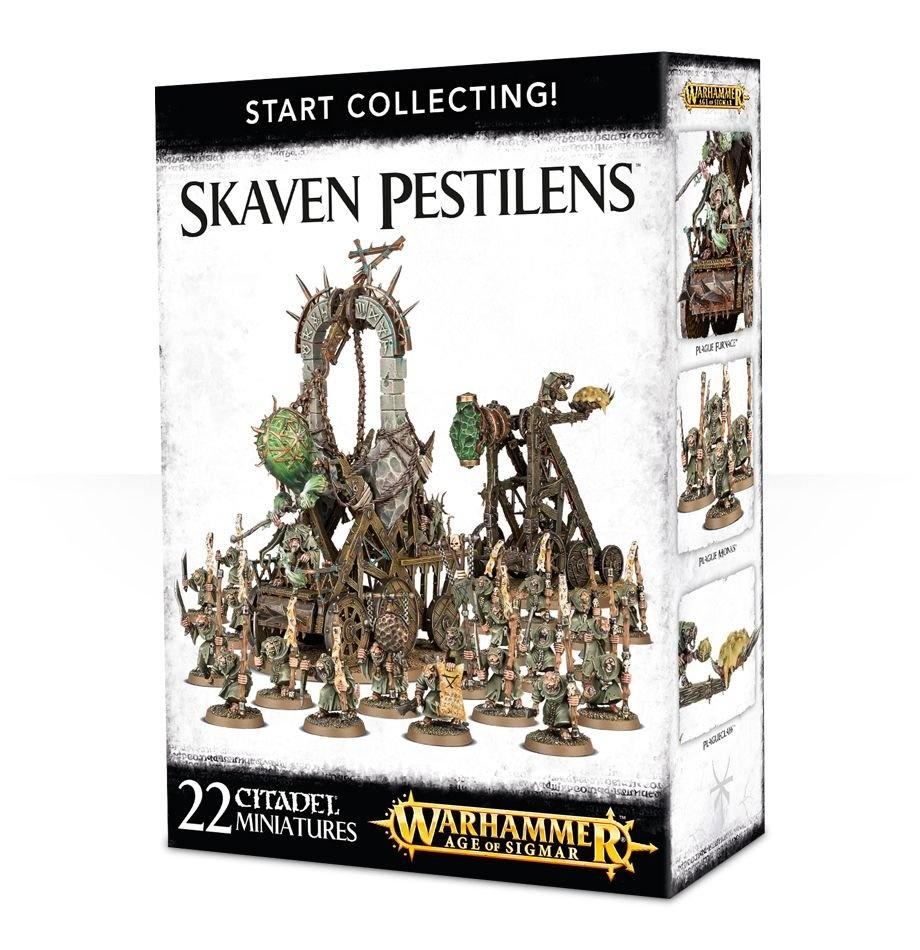 Games-Workshop Start Collecting! Skaven Pestilens