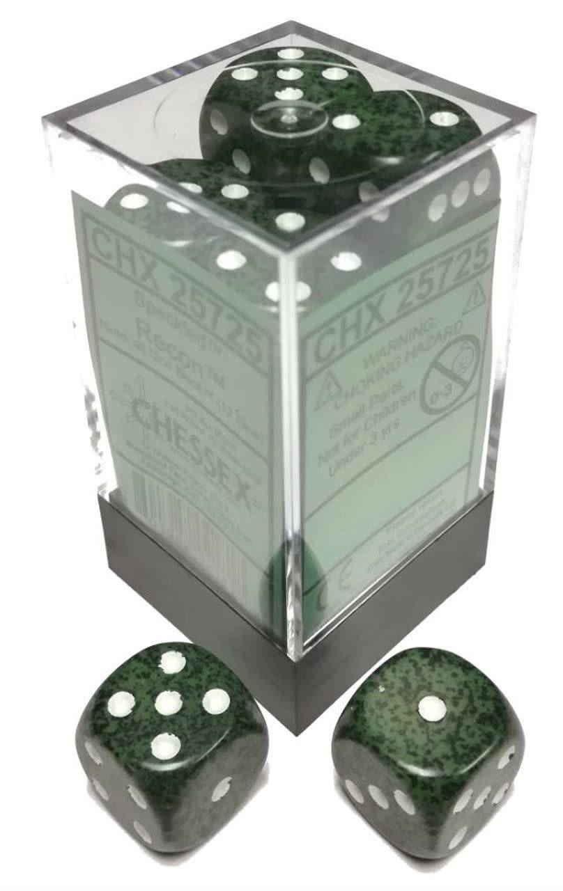 Chessex Chessex Speckled Recon Set of 12 d6 Dice