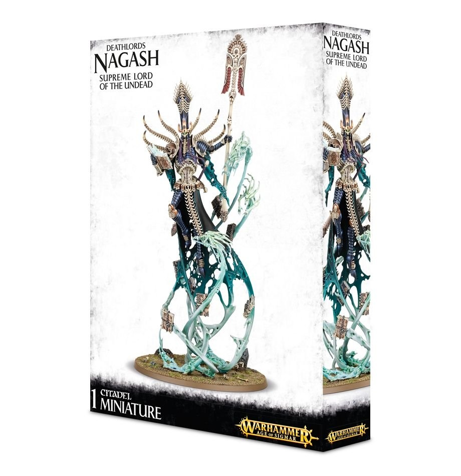 Games-Workshop Deathlords Nagash Supreme Lord Of Undead