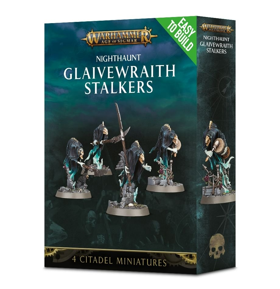 Games-Workshop Easy To Build Nighthaunt Glaivewraith Stalkers
