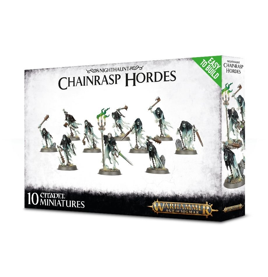 Games-Workshop Easy To Build: Nighthaunt Chainrasp Hordes