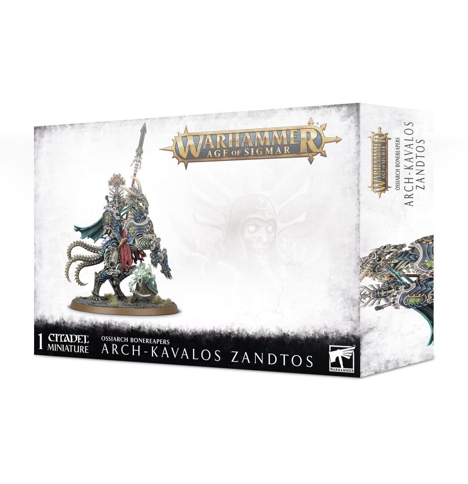 Games-Workshop Arch-Kavalos Zandtos Dark Lance Of Ossia