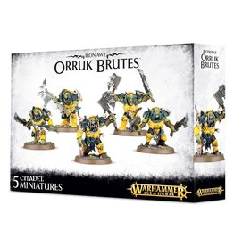 Games-Workshop Ironjawz Orruk Brutes