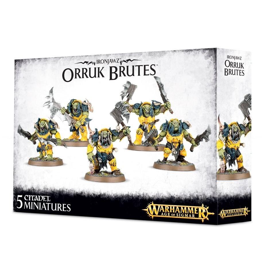 Games-Workshop Ironjawz Orruk Brutes