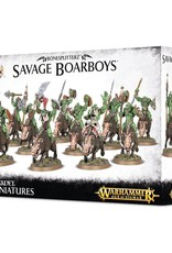 Games-Workshop Bonesplitterz Savage Boarboys