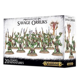 Games-Workshop Bonesplitterz Savage Orruks