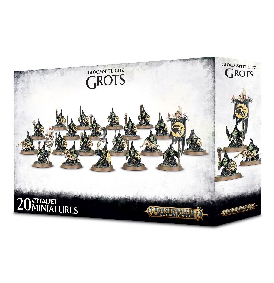 Games-Workshop Gloomspite Gitz Grots