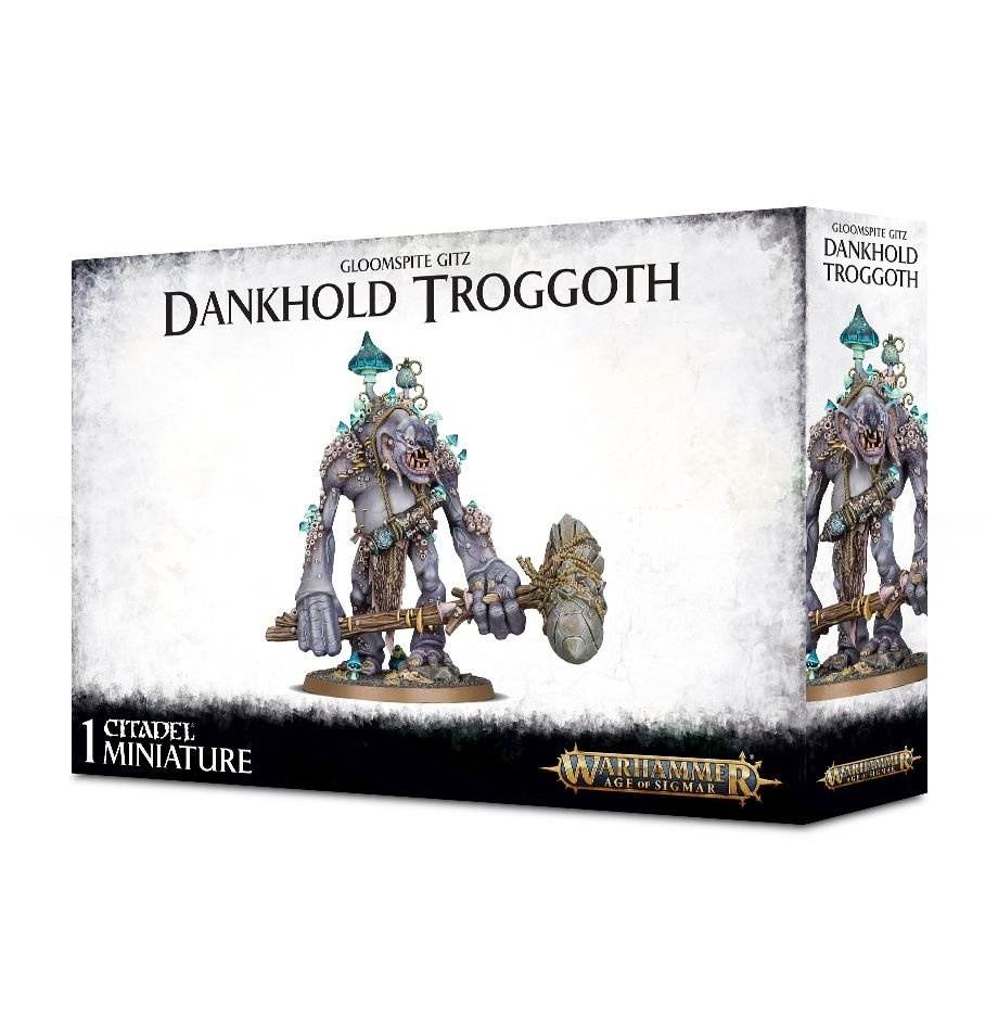 Games-Workshop Gloomspite Gits Dankhold Troggoth