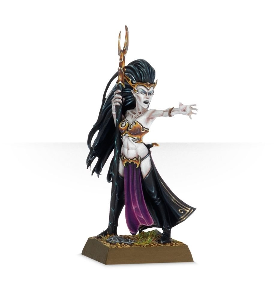 Games-Workshop Dark Elf Supreme Sorceress