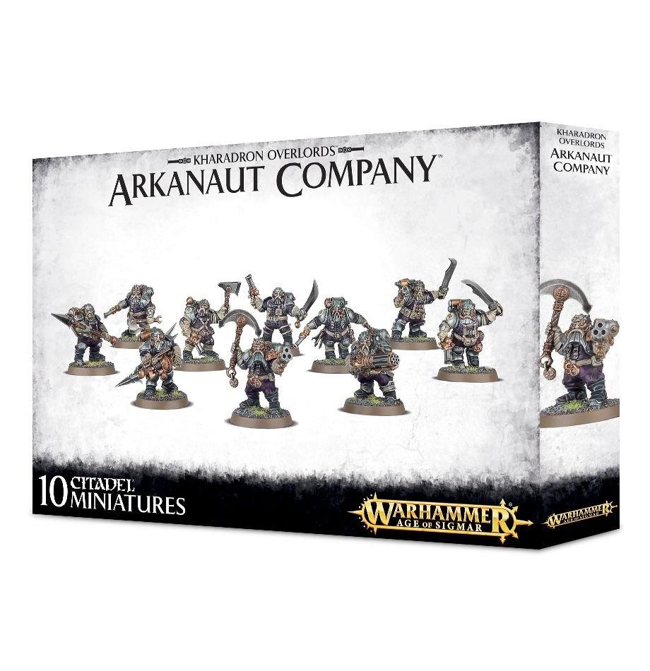 Games-Workshop Kharadron Overlords Arkanaut Company