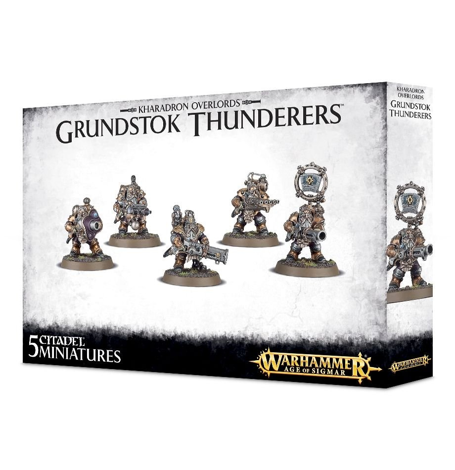Games-Workshop Kharadron Overlords Grundstok Thunderers