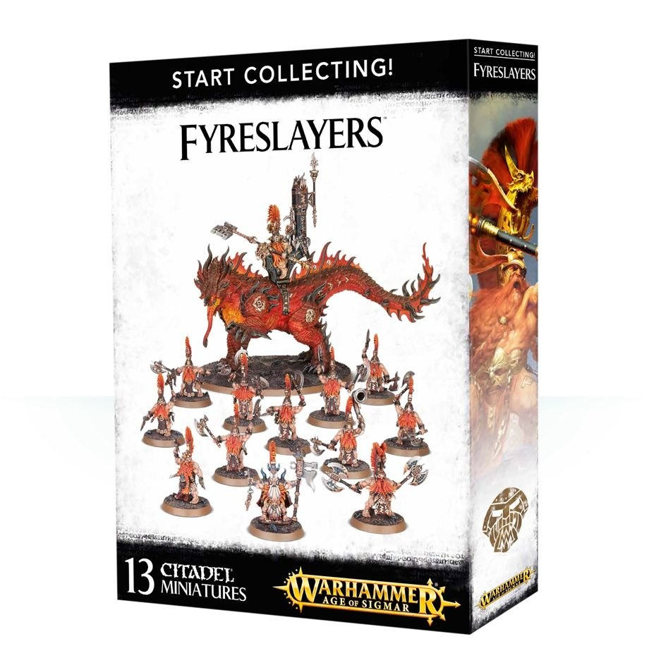 Games-Workshop Start Collecting! Fyreslayers