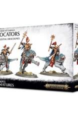 Games-Workshop Stormcast Eternals Evocators On Celestial Dracolines