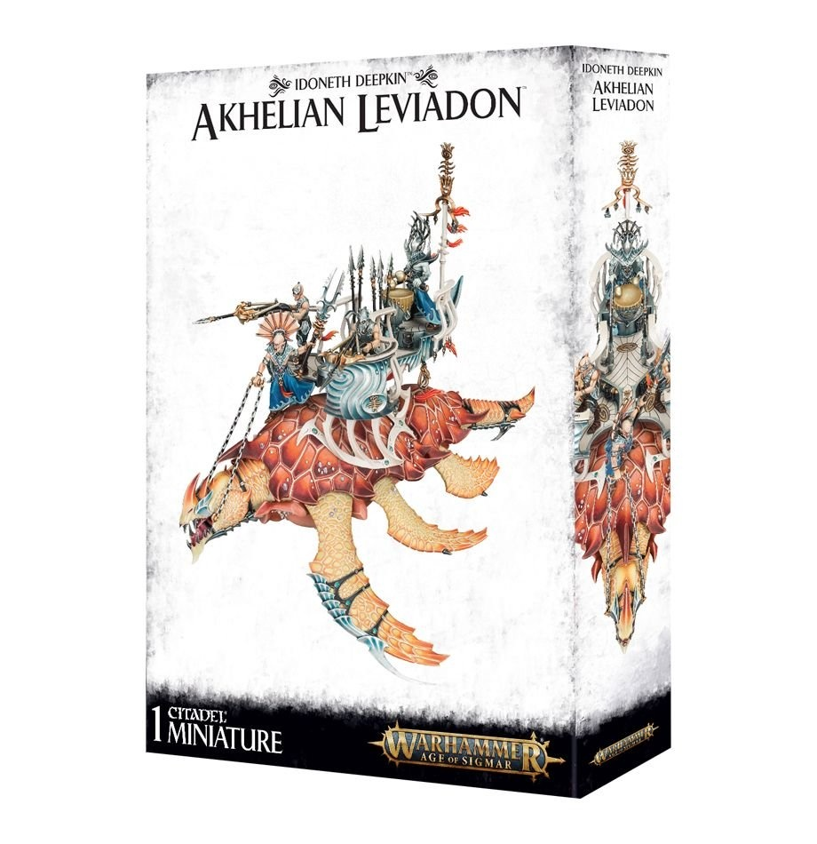 Games-Workshop Idoneth Deepkin: Akhelian Leviadon