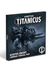Games-Workshop Acastus Knight Command Terminal Pk (Eng)